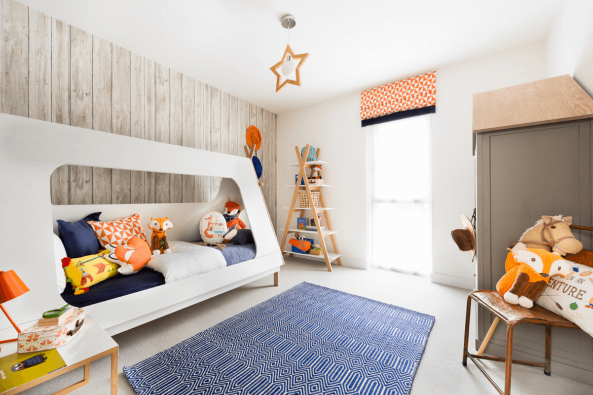 Modern And Inspiring Childrens Rooms Project One
