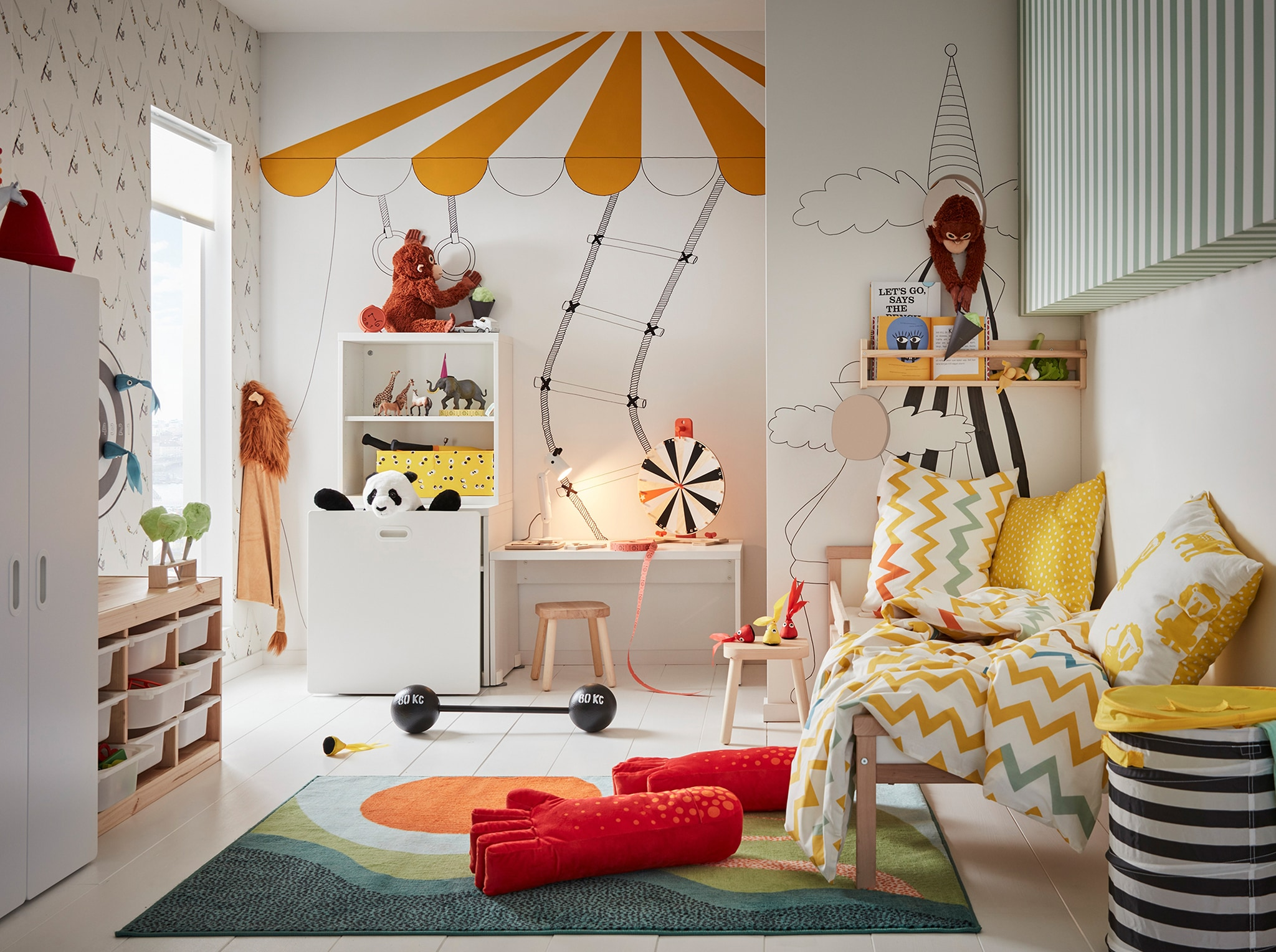 Colorful And Fun Kids Interiors From Leading Brands
