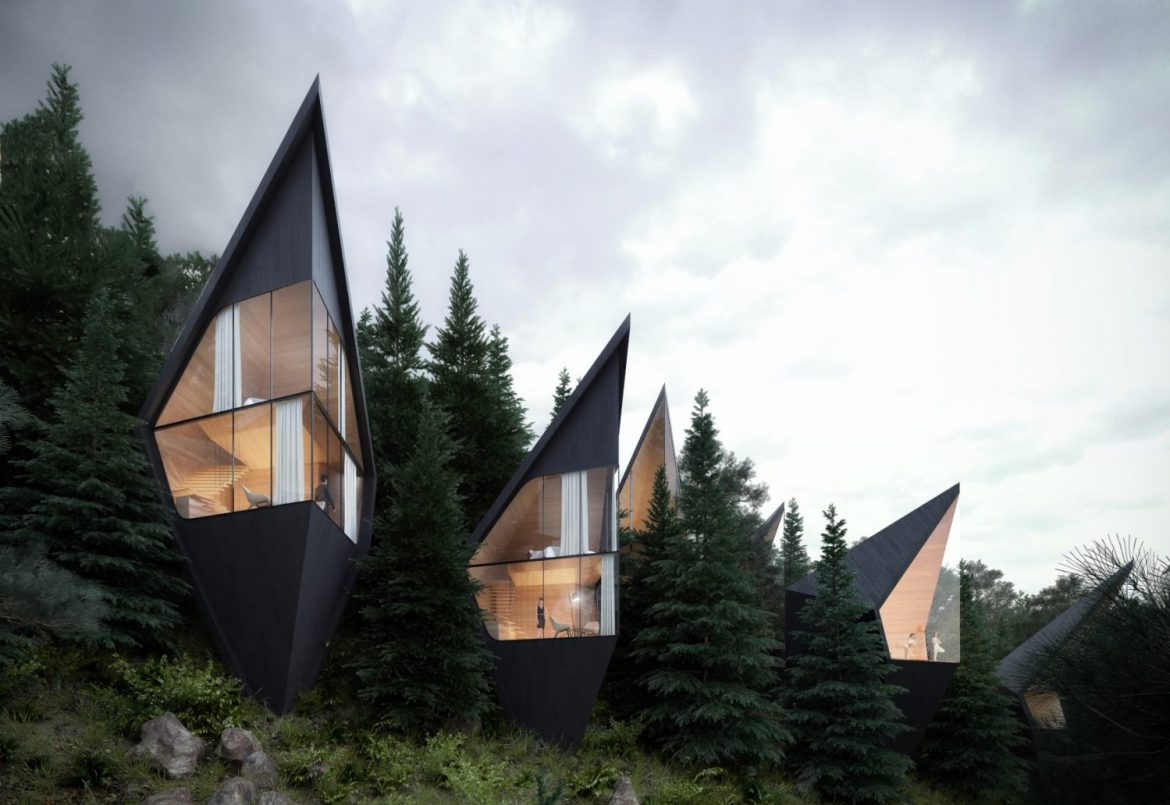 Architecture And Nature Beautiful And Unique Tree House Designs